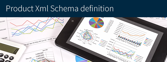 Product Xml Schema definition